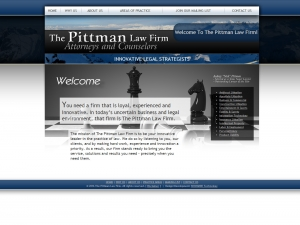 Website Visual - The Pittman Law Firm